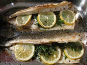 Oven Roasted Branzino Sea Bass